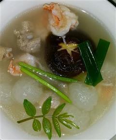 冬瓜鲜虾排骨汤