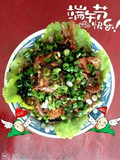 生菜水煮鱼片