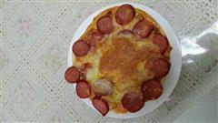 自制饼底披萨