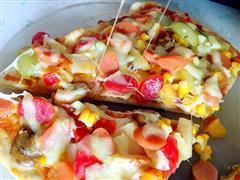 有材有貌-水果披萨