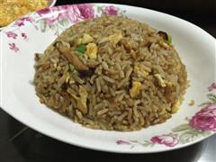 香菇虾皮蛋炒饭