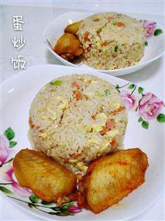 剩米饭的归宿-蛋炒饭