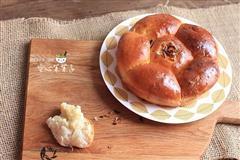 蒜油土豆泥面包
