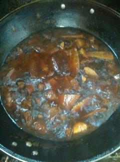干子红烧肉