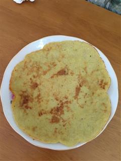 香蕉鸡蛋饼