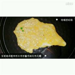 低脂燕麦鸡蛋饼