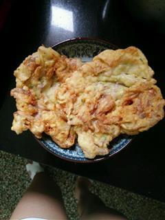 木槿花鸡蛋煎饼