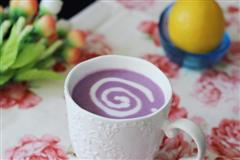紫薯奶昔-富含膳食纤维-抗癌排毒通便瘦身