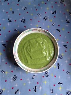 绿米苋蛋黄土豆泥