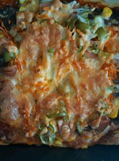 番茄牛肉披萨