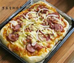 厚底香肠披萨