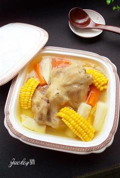 粟米清鸡汤