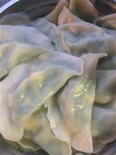 猪油韭菜饺子