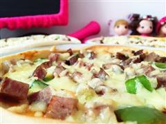 哈尔滨红肠披萨