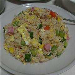 蔬菜杂锦蛋炒饭