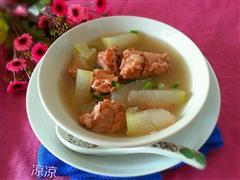 冬瓜荷叶排骨汤