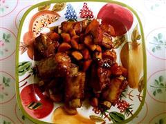 一菜两吃 红烧排骨 冬瓜汤