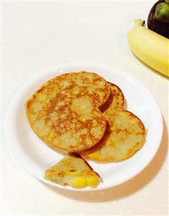 香蕉玉米鸡蛋饼