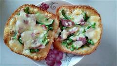 简单土司披萨