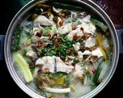 老少咸宜的酸菜水煮鱼