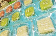 马卡龙冰皮月饼