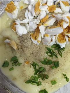 咸鸭蛋低脂土豆泥