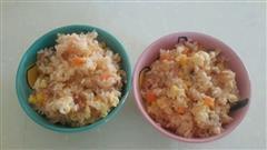 茄汁什锦蛋炒饭