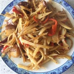 红烧肉土豆丝