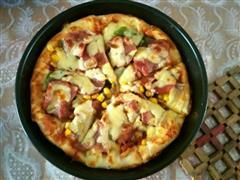 豪华版披萨