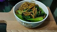 黑暗料理 老上海炒面 最棒的宵夜