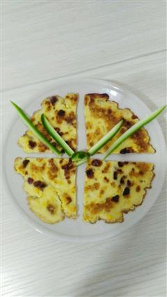 鸡蛋玉米红枣煎饼