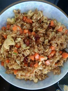 Diy酱油炒饭