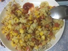 培根蛋炒饭