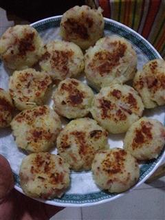 洋葱-培根-土豆煎饼