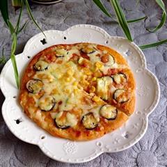 全麦蔬菜披萨