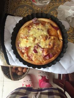 培根洋葱披萨