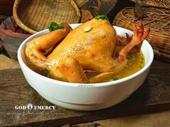 滋补强身的北京油鸡汤