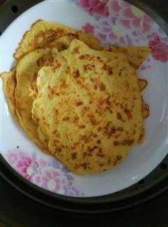三丝鸡蛋饼
