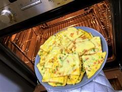 脆皮芝士火腿鸡蛋饼