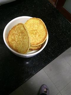 苹果鸡蛋饼