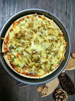五花肉披萨