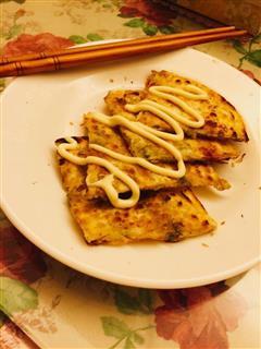 小葱油煎饼