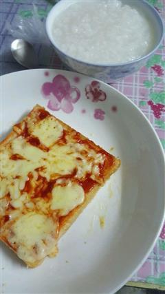 简易吐司披萨