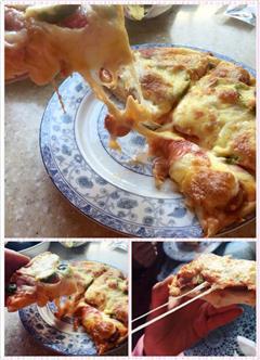 俄式培根香肠披萨