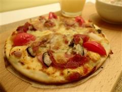 意式薄底披萨
