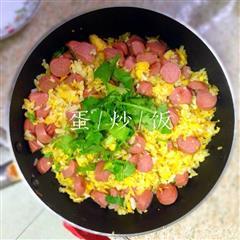 蛋炒饭炒饭简易版