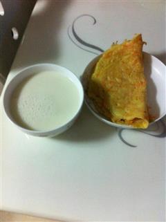 露露豆浆煎饼