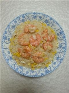 虾仁蛋炒饭