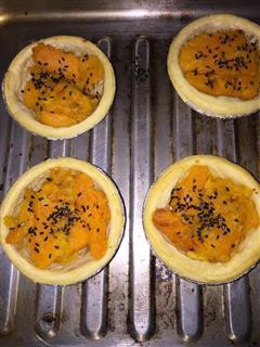 蛋挞式咸蛋黄焗南瓜条