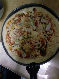 微波炉披萨饼